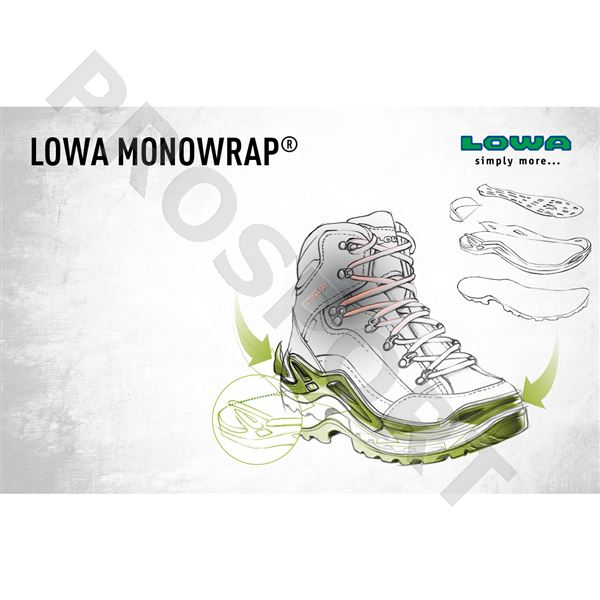 Lowa Renegade gtx mid UK13 forest