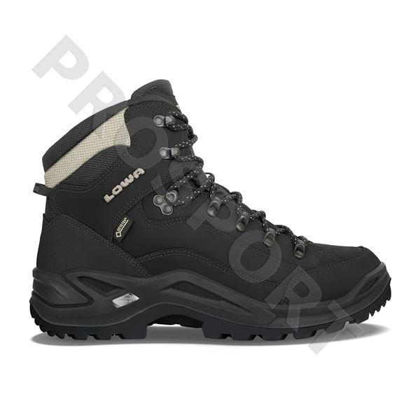 Lowa Renegade gtx mid UK7 black/pebble