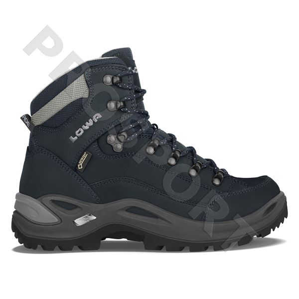 Lowa Renegade gtx mid Ls UK7,5 navy/grey